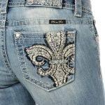 Miss Me Jeans *Fleur de Lis* –  BootCut