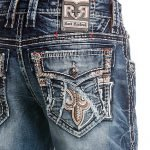 Rock Revival Herren Jeans Baxter Straight