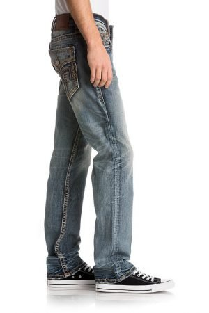 Rock Revival Herren Jeans Albus Straight