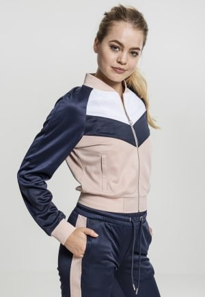 Ladies Short Raglan Track Jacket