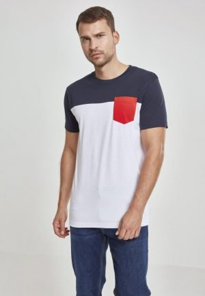T-Shirt 3-Tone Pocket Tee