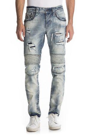 Rock Revival Jeans – Rasmus – Biker Moto