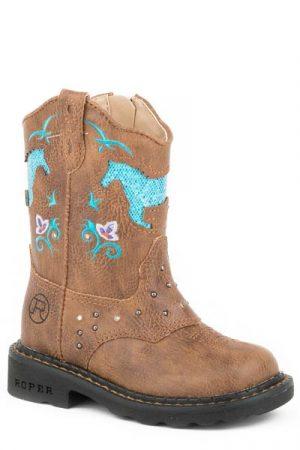Roper Boots Kids – Horses