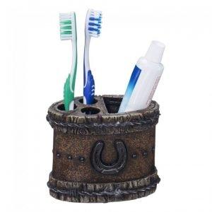 Zahnbürstenhalter – Hufeisen