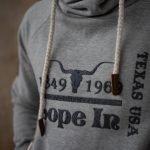 Lope In Men Pull Over Hoodie – grey