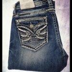 Miss Me Winged Skinny Jeans
