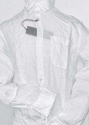 Leinenhemd Herren – White