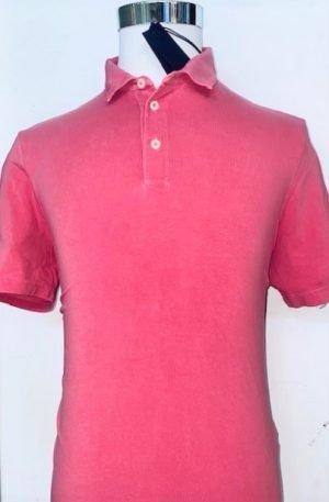 Polo Shirt Herren von NumberBlue -pink-